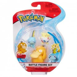 Pokémon Battle Mini Figures 3-Packs - Sobble Togepi & Psyduck
