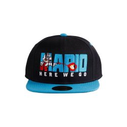 Nintendo Snapback Cap Here We Go