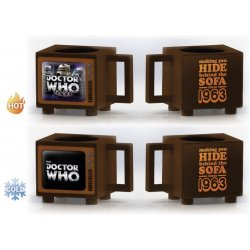 Doctor Who Heat Change Mug Hide Behind the Sofa