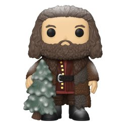 Harry Potter Super Sized POP! Vinyl Figure Holiday Rubeus Hagrid 15 cm