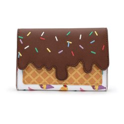 Disney by Loungefly Flap Purse Princess Ice Cream