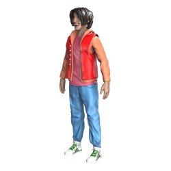 Bill & Ted's Bogus Journey FigBiz Action Figure Ted 'Theodore' Logan, III 13 cm