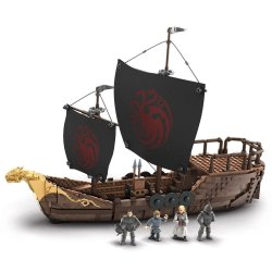 Game of Thrones Mega Construx Black Series Construction Set Targaryen Warship