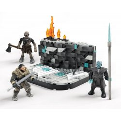 Game of Thrones Mega Construx Black Series Construction Set Battle Beyond The Wall