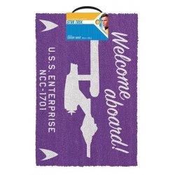Star Trek Doormat Welcome Aboard 40 x 60 cm