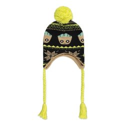 Guardians of the Galaxy Ski Beanie Groot Xmas Laplander