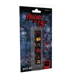 Friday the 13th Dice Set 6D6 (6)