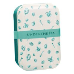 Disney Bamboo Lunch Box Under The Sea