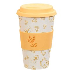 Disney Bamboo Lidded Mug Be Our Guest