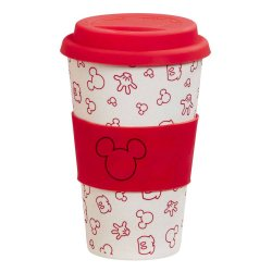 Disney Bamboo Lidded Mug Oh Boy