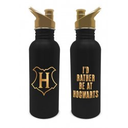 Harry Potter Drink Bottle I'd Rather Be At Hogwarts