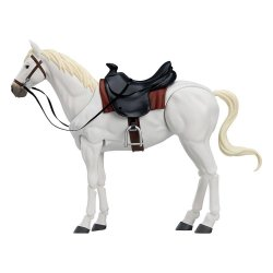 Original Character Figma Action Figure Horse ver. 2 (White) 19 cm