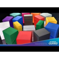 Ultimate Guard Boulder™ Deck Case 60+ Standard Size Ruby