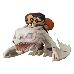 Harry Potter POP! Rides Vinyl Figure Dragon w/Harry, Ron, & Hermione 15 cm