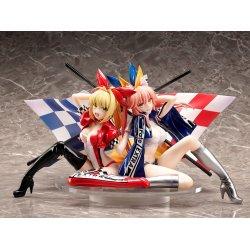 Fate/Extra PVC Statue 1/7 Nero Claudius & Tamamo No Mae Type-Moon Racing Ver. 17 cm
