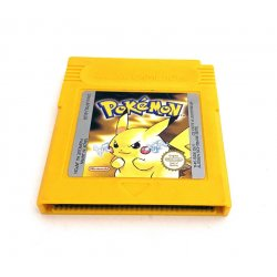GameBoy - Pokemon Yellow (Losse Cassette)