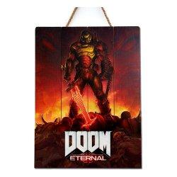 Doom WoodArts 3D Wooden Wall Art Eternal 30 x 40 cm