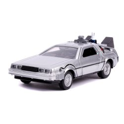 Back to the Future II Hollywood Rides Diecast Model 1/32 DeLorean Time Machine
