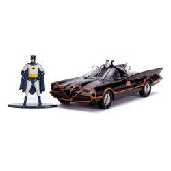 Batman Classic TV Series Diecast Model 1/32 1966 Classic Batmobile with Figure