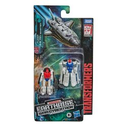 Transformers Generations War for Cybertron: Earthrise Micromasters Fuzer & Autobot Blast Master