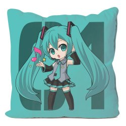 Vocaloid Pillow Case Hatsune Miku 50 x 50 cm
