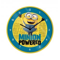 Minions 2 Wall Clock Minion Powered