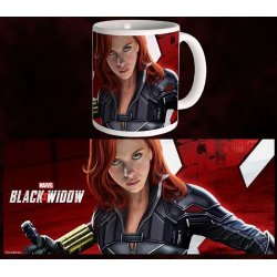 Black Widow Movie Mug Fight