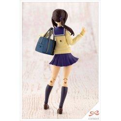 Sousai Shojo Teien Plastic Model Kit 1/10 Madoka Yuki Touou High School Winter Clothes 15 cm