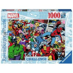 Marvel Challenge Jigsaw Puzzle Comics (1000 pieces)