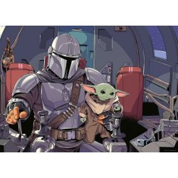 Star Wars The Mandalorian Jigsaw Puzzle Cartoon (1000 pieces)