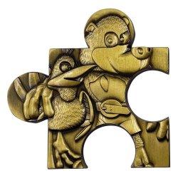 Banjo-Kazooie Replica Jiggy Piece (gold plated)