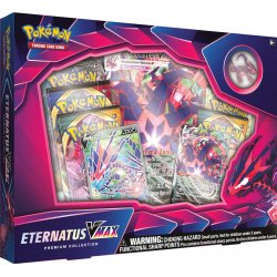 Pokémon TCG Eternatus VMAX Premium Collection Box