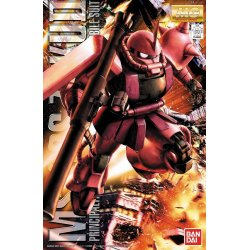 Gundam - MS-06S Zaku II (Char Aznable Custom) Ver.2.0 MG 1/100