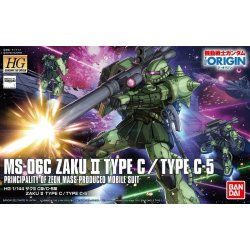 Gundam - MS-06C Zaku II Type C/Type C-5 HGGTO 1/144