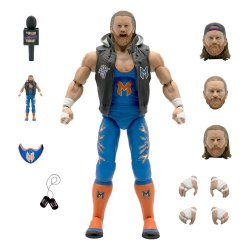 Major Wrestling Podcast Ultimates Action Figure Wave 1 Brian Myers 18 cm