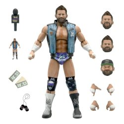 Major Wrestling Podcast Ultimates Action Figure Wave 1 Matt Cardona 18 cm