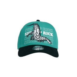 Rick and Morty Curved Bill Cap Shrimp Rick