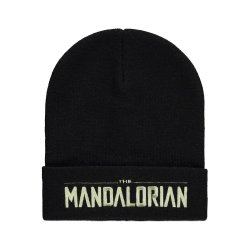 Star Wars The Mandalorian Beanie Logo