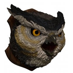 Dungeons & Dragons Trophy Figure Owlbear (Foam Rubber/Latex) 58 cm