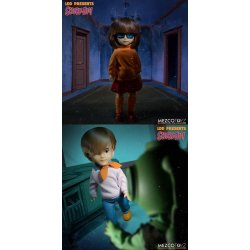 Scooby-Doo & Mystery Inc Build A Figure Living Dead Dolls 25 cm Velma & Fred Assortment (6)