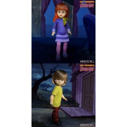 Scooby-Doo & Mystery Inc Build A Figure Living Dead Dolls 25 cm Daphne & Shaggy Assortment (6)