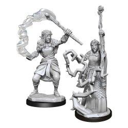 D&D Nolzur's Marvelous Miniatures Unpainted Miniatures Firbolg Druid Female Case (6)