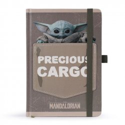 Star Wars The Mandalorian Premium Notebook A5 Precious Cargo