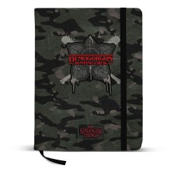 Stranger Things Notebook A5 Hunting