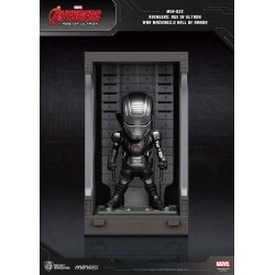 Avengers Age of Ultron Mini Egg Attack Action Figure Hall of Armor War Machine 2.0 8 cm