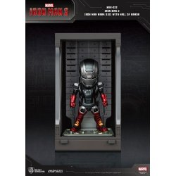 Iron Man 3 Mini Egg Attack Action Figure Hall of Armor Iron Man Mark XXII 8 cm