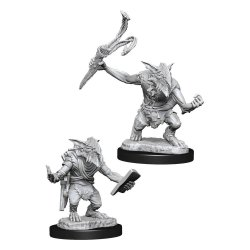 Magic the Gathering Deep Cuts Unpainted Miniatures Goblin Guide & Goblin Bushwhacker Case (6)