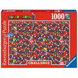 Nintendo Challenge Jigsaw Puzzle Super Mario Bros (1000 pieces)