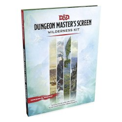 Dungeons & Dragons RPG Dungeon Master's Screen Wilderness Kit english