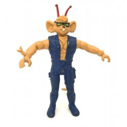 Biker Mice From Mars: Super Bendables – Throttle (Unpainted)